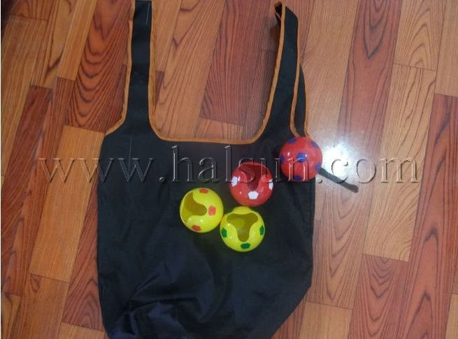 compressed shopping bag balls